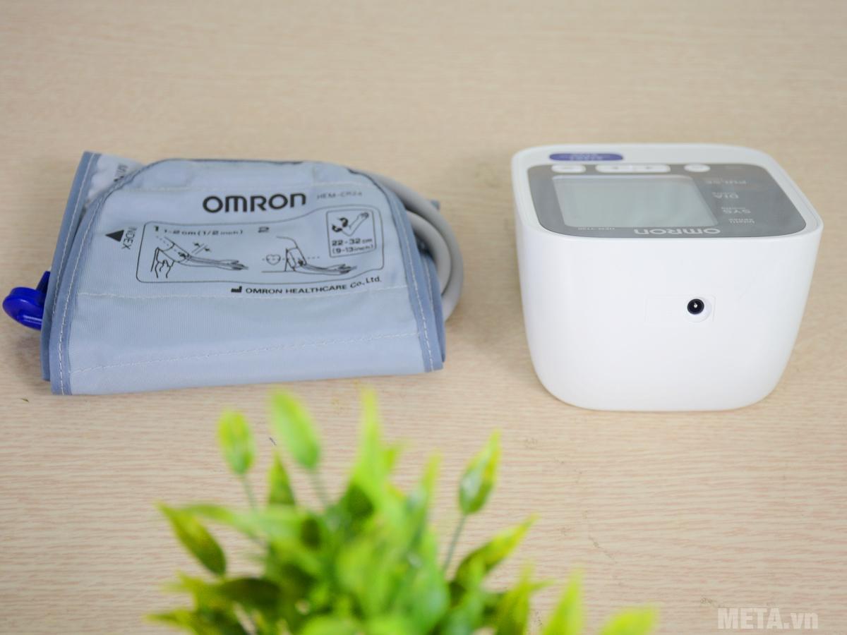 Máy đo huyết áp bắp tay HEM-7130 có bộ nhớ lưu 60 kết quả đo