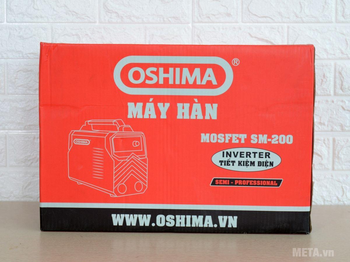 Hộp đựng máy hàn Oshima Mosfet SM-200