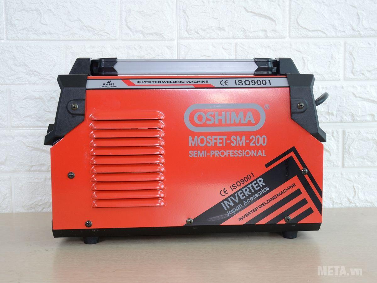 Máy hàn Oshima Mosfet SM-200 có lõi motor 100% dây đồng