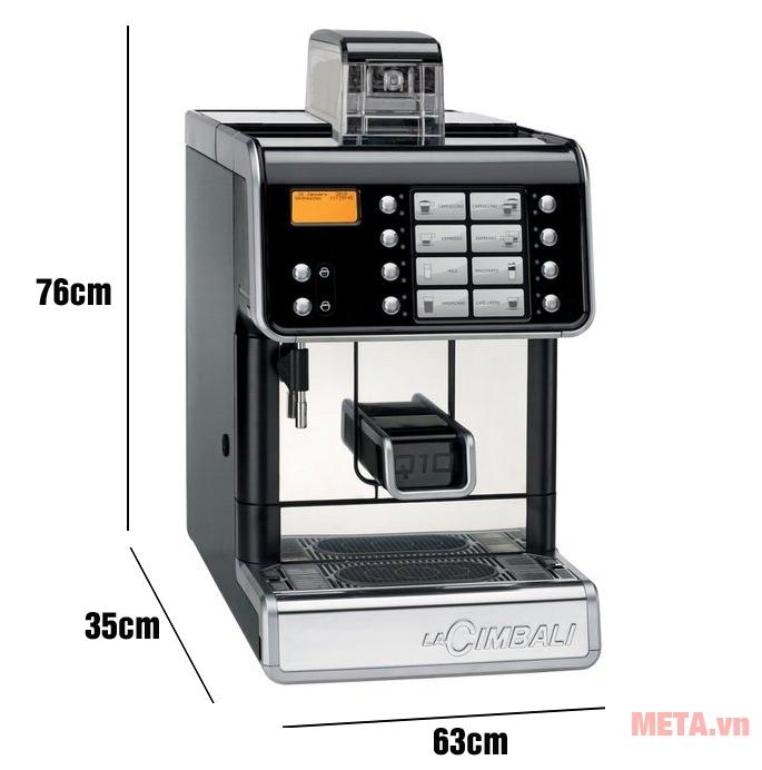Máy pha cà phê chuyên nghiệp LaCimbali Q10 MILKPS