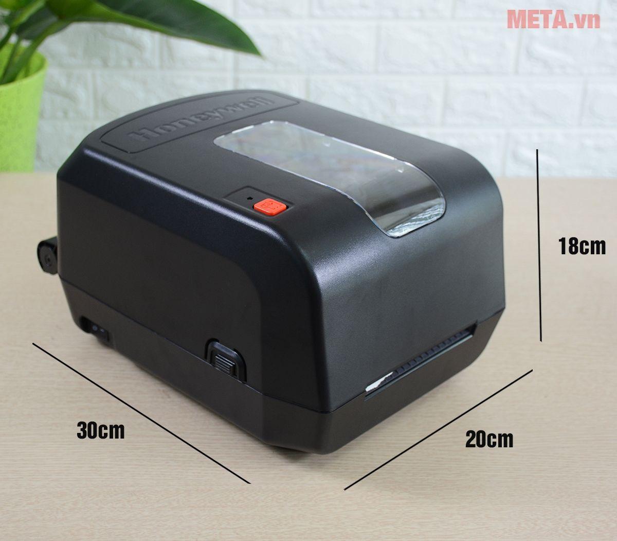 Kích thước của máy in mã vạch