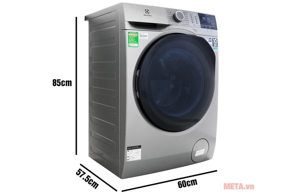 Kích thước máy giặt Electrolux Inverter EWF8024ADSA