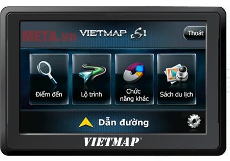 Thiết bị dẫn đường VietMap B50 nhỏ gọn, màn hình trực quan, dễ sử dụng