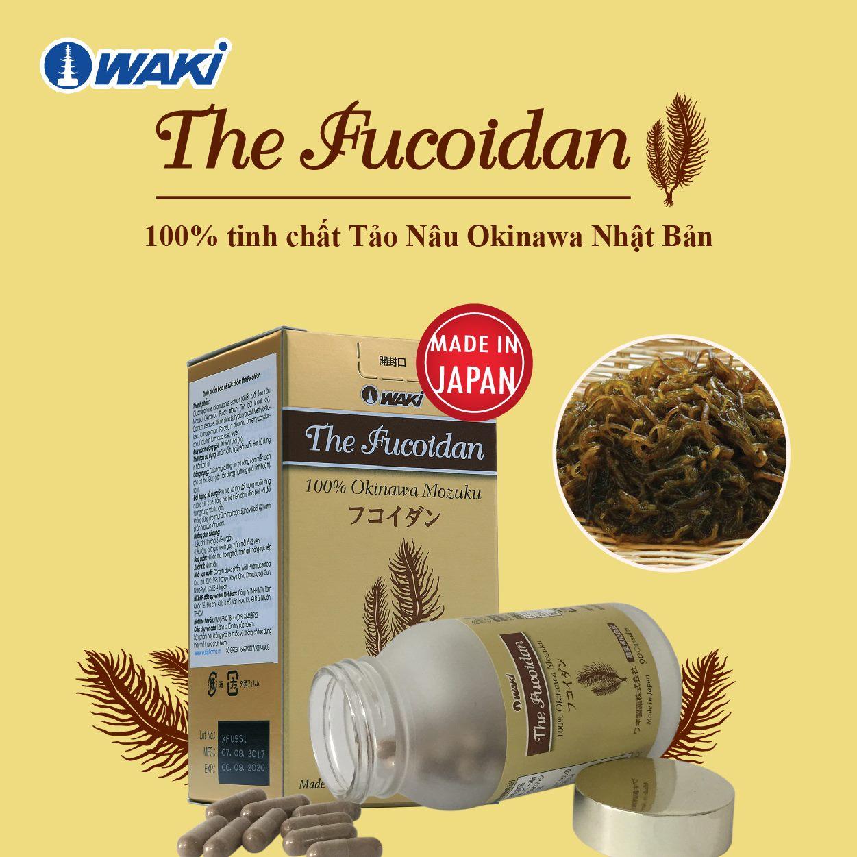 The Fucoidan chứa 100% tinh chất Tảo Nâu