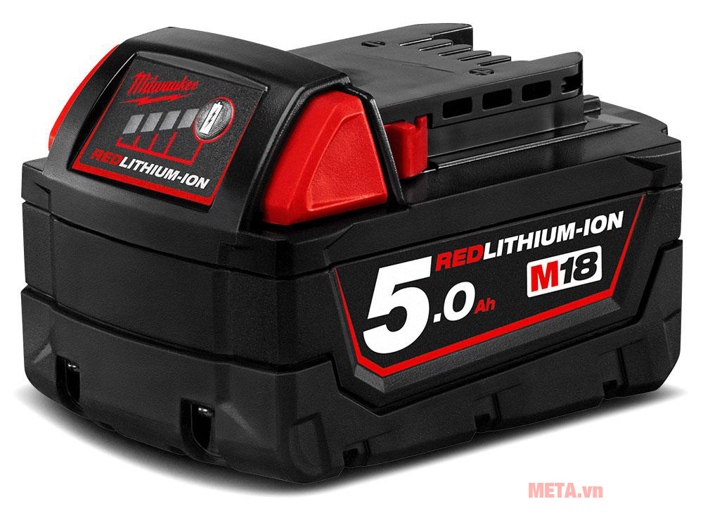 Pin Li-ion 18V 5.0Ah Milwaukee M18B5