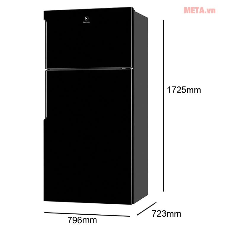 tủ lạnh Electrolux Inverter ETB5400B-H