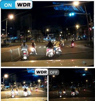 Camera Vietmap X9S hỗ trợ quay ngược sáng cực tốt