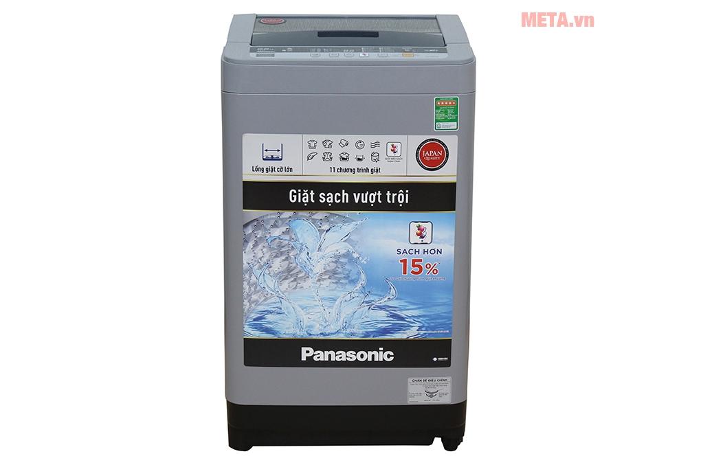 Máy giặt Panasonic 8kg NAF80VS9GRV có thiết kế tiện lợi