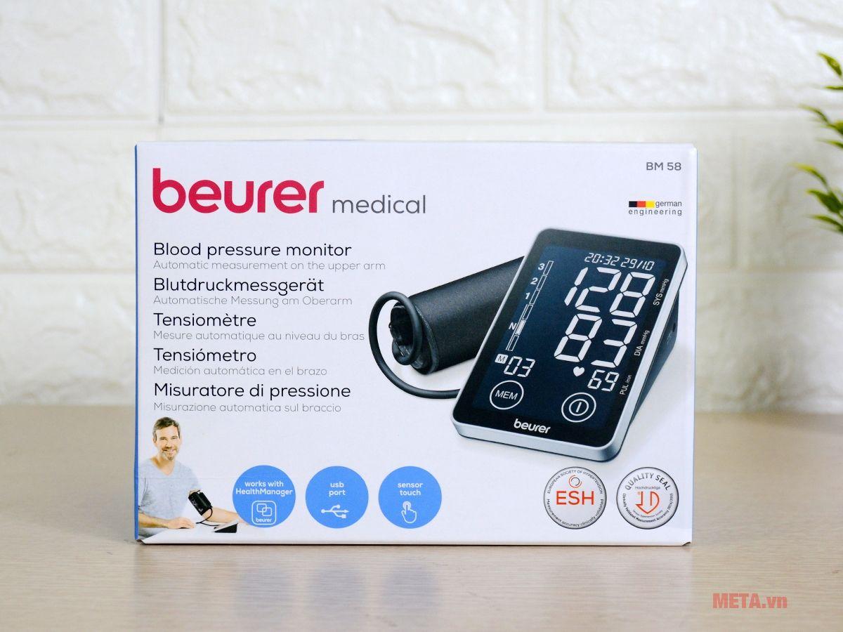 Máy đo huyết áp Beurer chính hãng