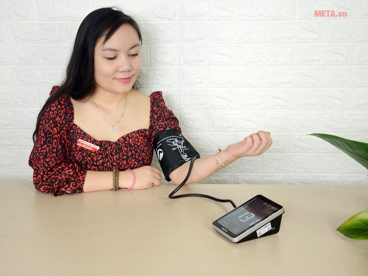 Cổng kết nối với PC của máy đo huyết áp bắp tay Beurer BM-58.