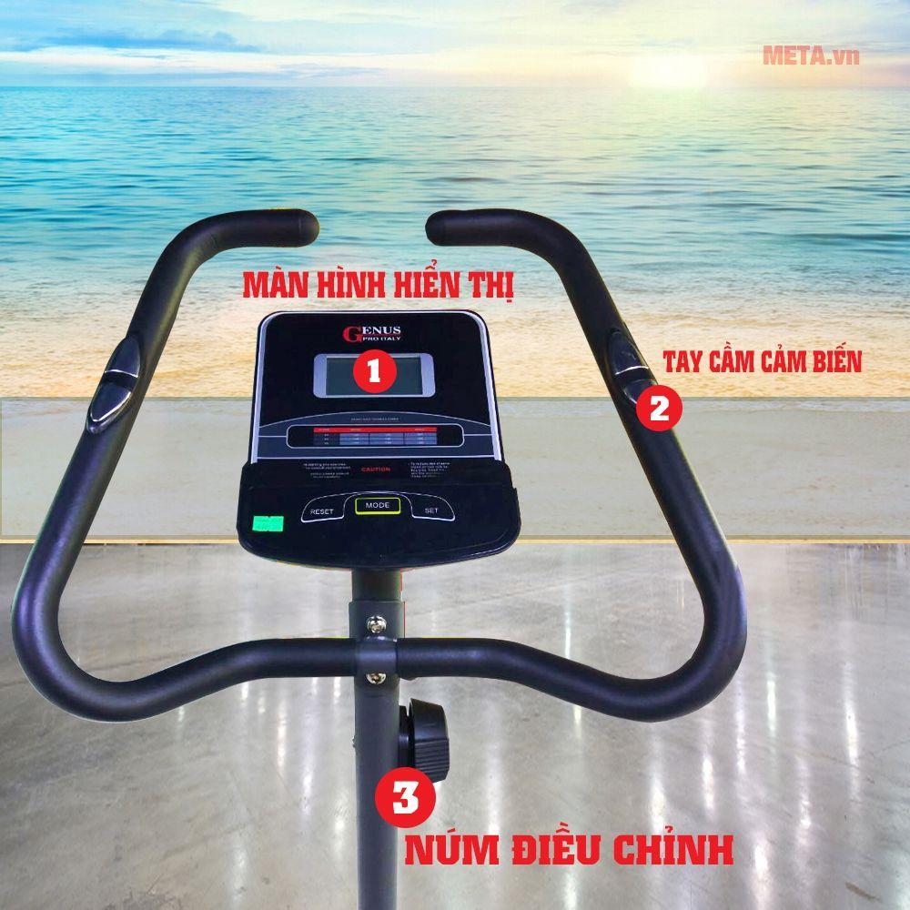 xe đạp tập thẻ dục