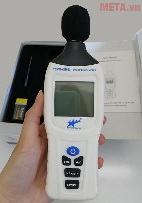 Máy đo tiếng ồn TCVN-SM03