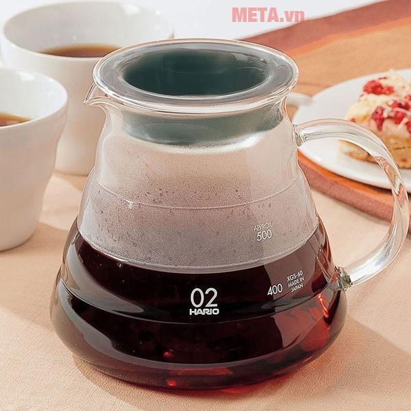 Bình đựng pha cà phê