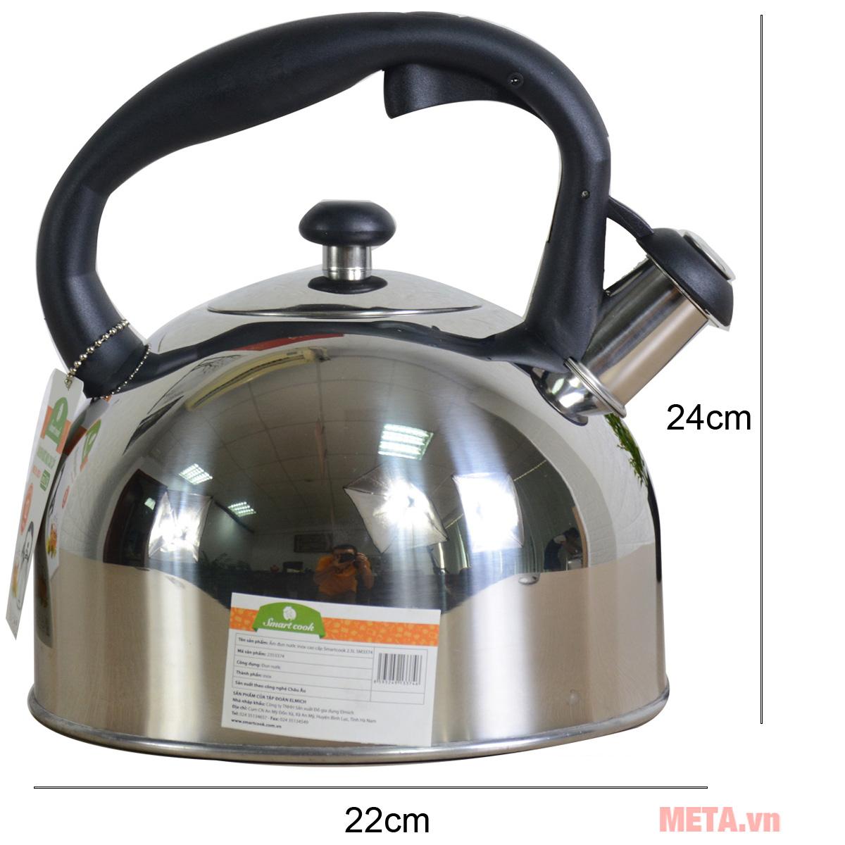 Ấm đun nước Smartcook