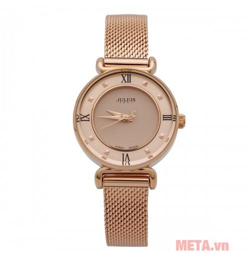 Đồng hồ nữ Julius JA-728 đồng