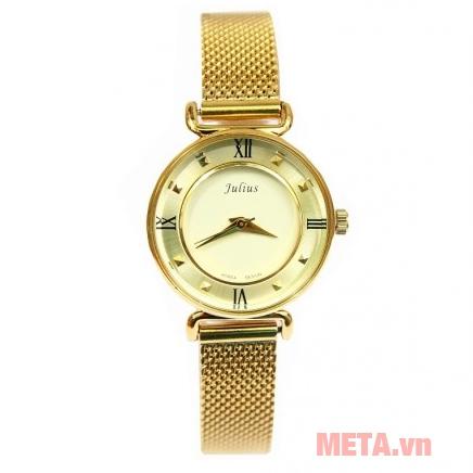 Đồng hồ nữ Julius JA-728 vàng