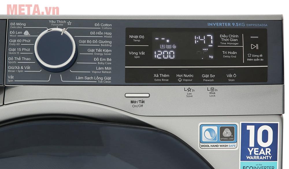 Máy giặt Electrolux 9,5kg