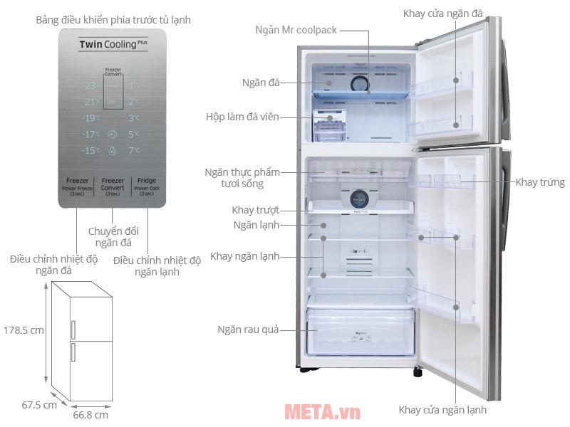 5 chế độ chuyển đổi hoạt động của tủ lạnh Samsung Inverter RT43K6331SL/SV