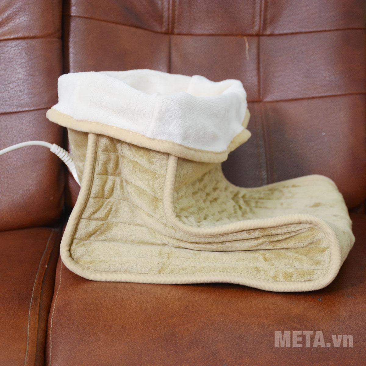 Ủng làm ấm đôi chân FWS với thiết kế tiện lợi