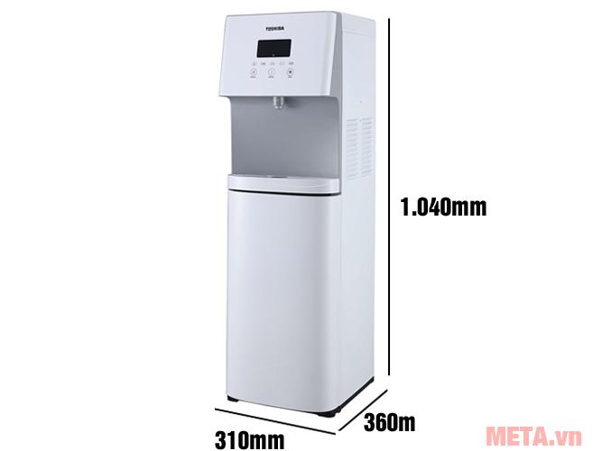 Kích thước Cây nước nóng lạnh