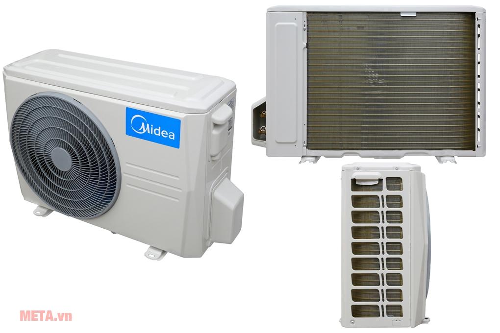 Cục nóng điều hòa với kích thước 85.5cm x 55.5cm x 29.5cm