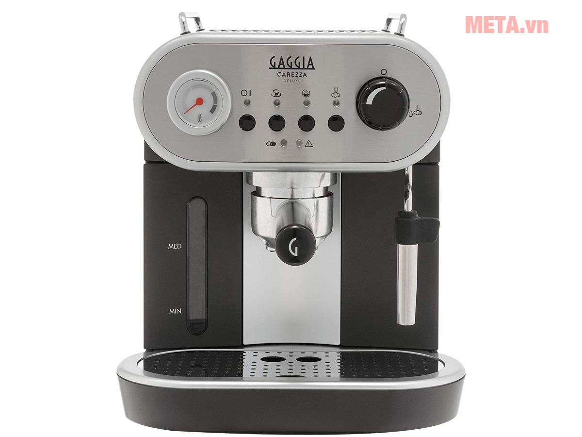 Mặt trước máy pha cà phê
