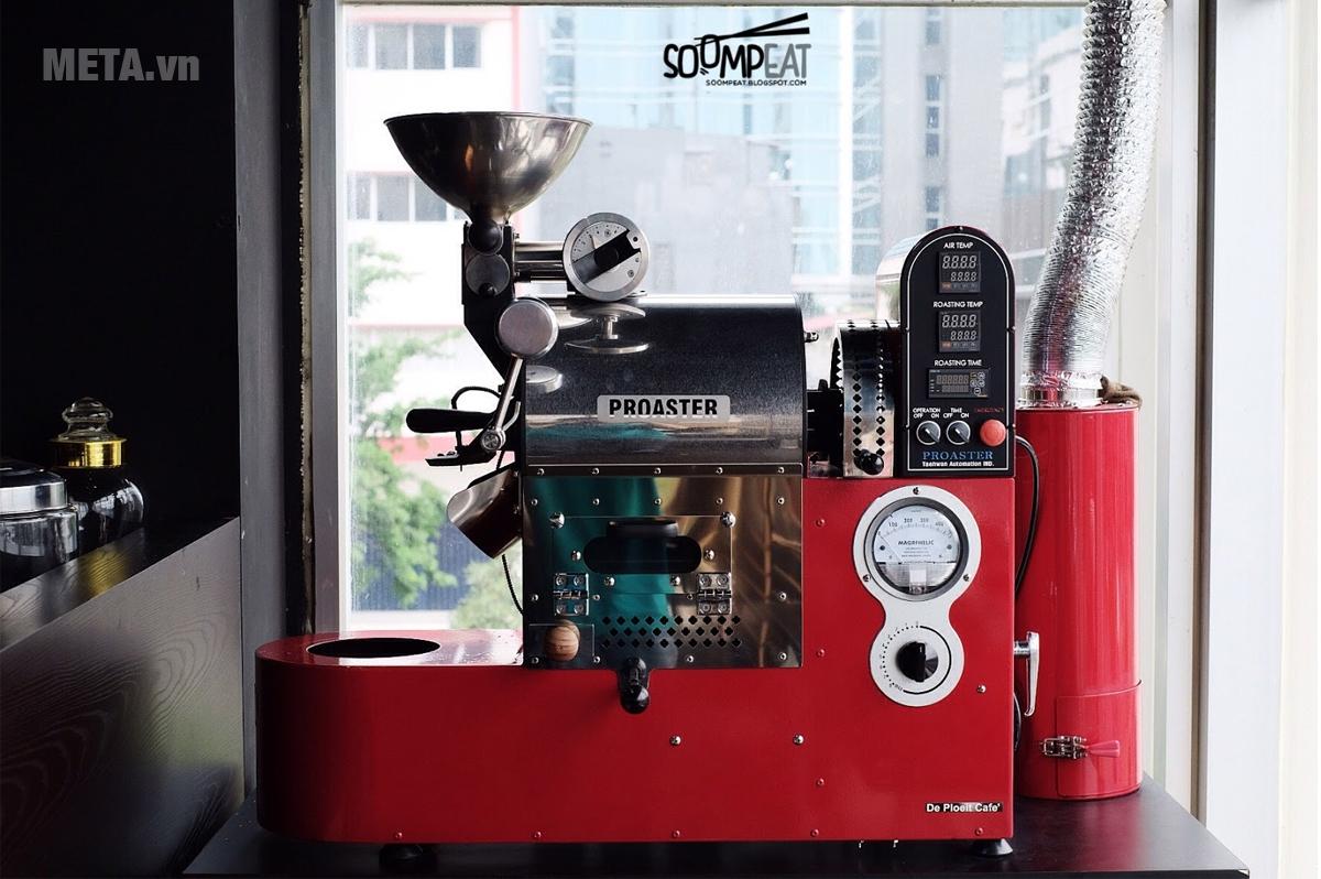 Máy rang cà phê THCR-01 thiết kế đẹp mắt và chuyên nghiệp