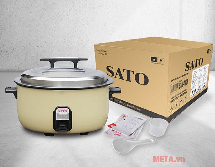 Nồi cơm điện Sato nắp rời