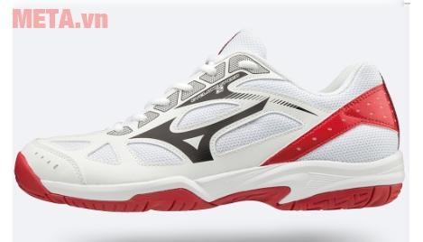 Giày thể thao màu đỏ trắng