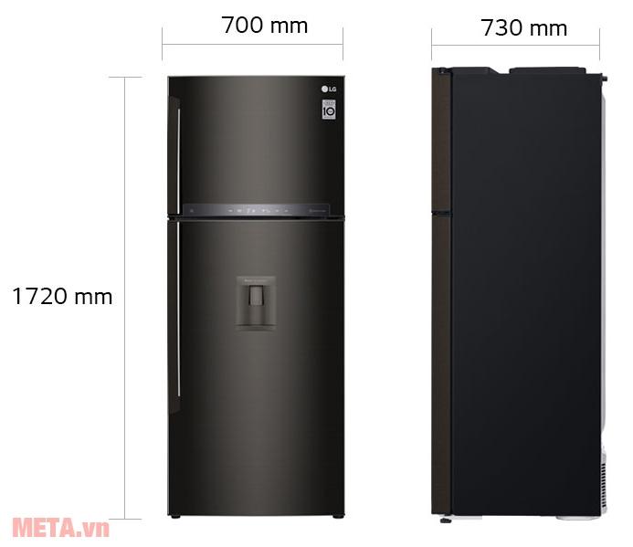 tủ lạnh LG GN-D440BLA giá tốt