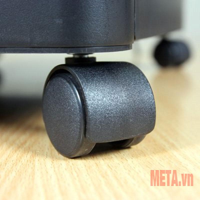 Máy hủy tài liệu Silicon PS-910LCD có 4 bánh xe di chuyển