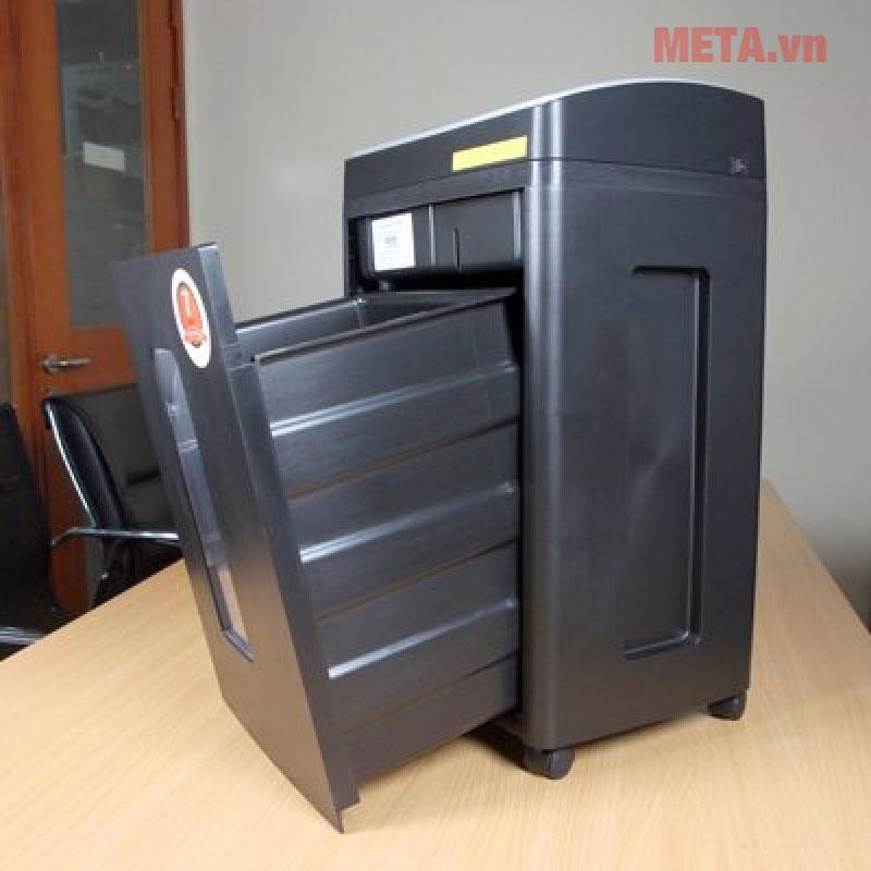 Máy hủy tài liệu Silicon PS-910LCD có màn hình hiển thị Led.
