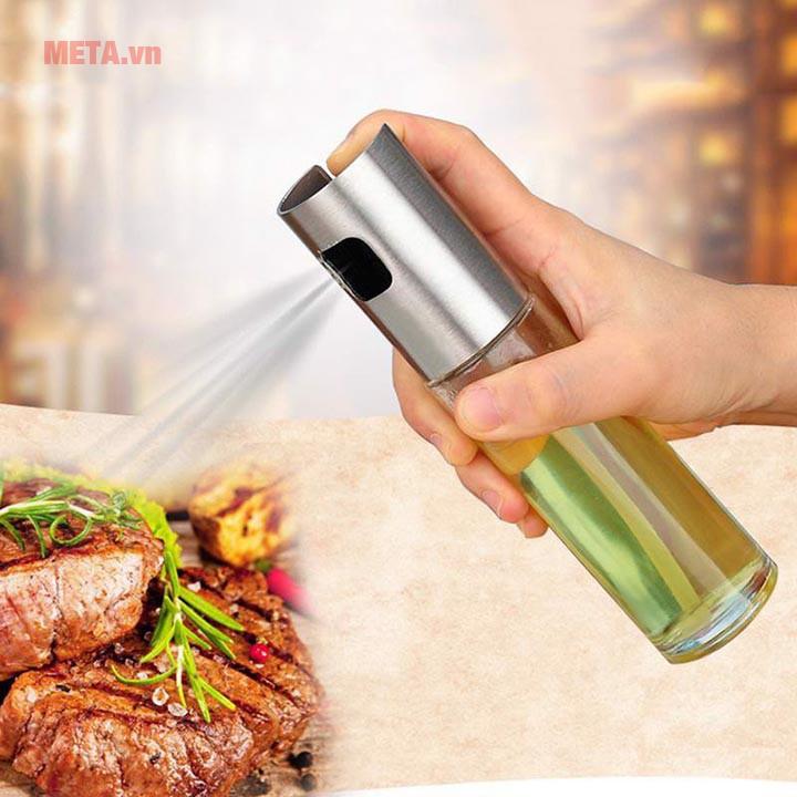 Bình xịt dầu ăn