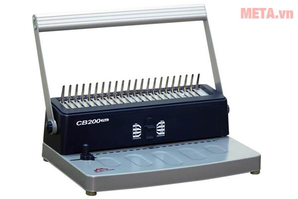 Máy đóng sách Silicon BM-CB200 đục được giấy khổ A4