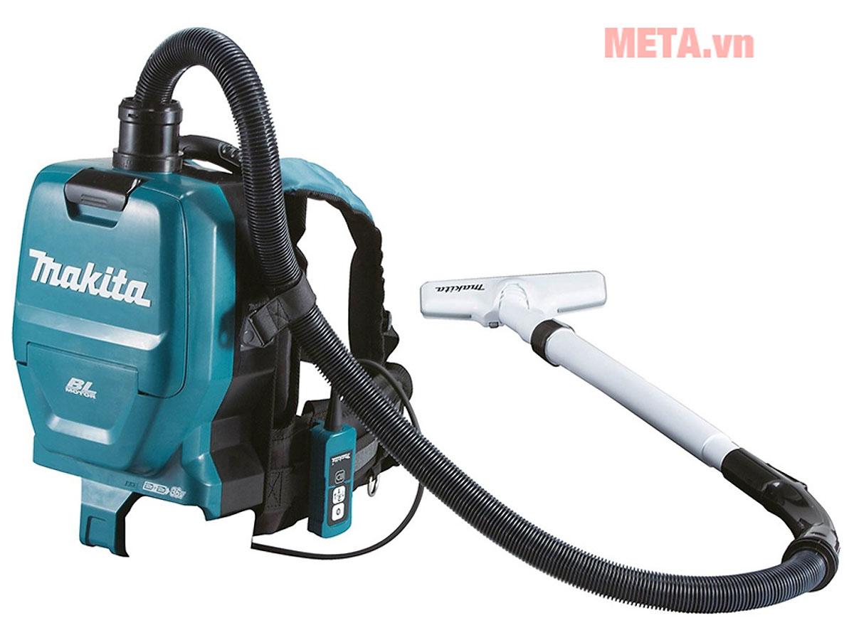 Máy hút bụi đeo vai dùng pin Makita DVC260ZX5 - META.vn