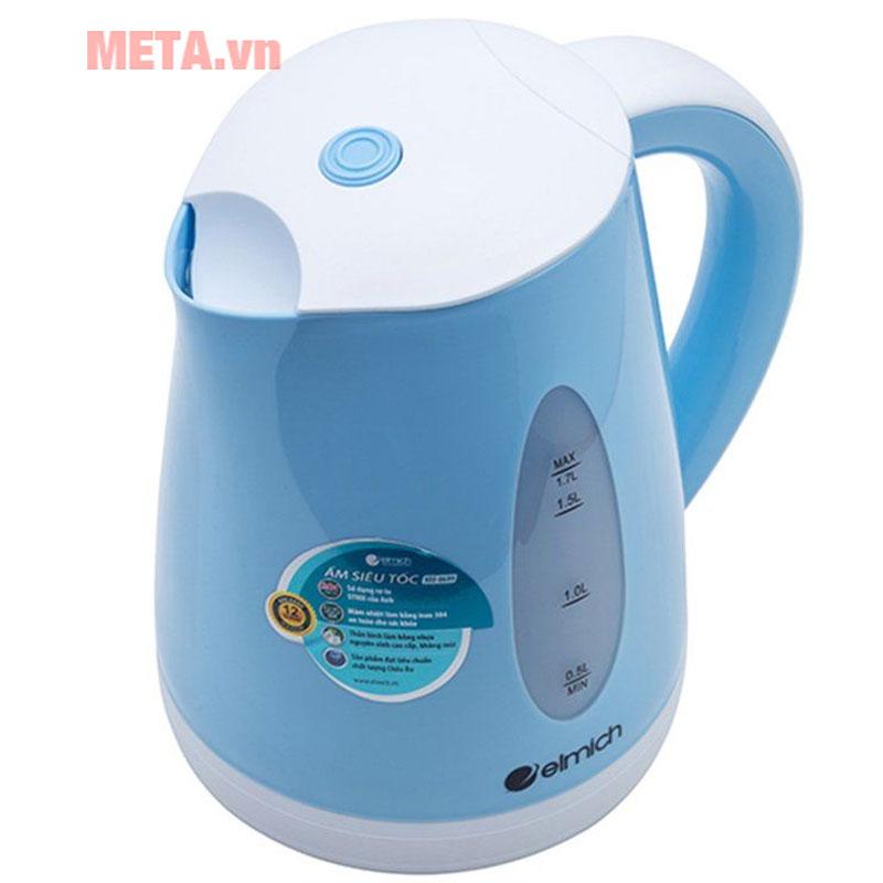 Ấm đun nước siêu tốc Elmich 1,7 lít KEE-0699 tự ngắt điện khi sôi, an toàn khi sử dụng
