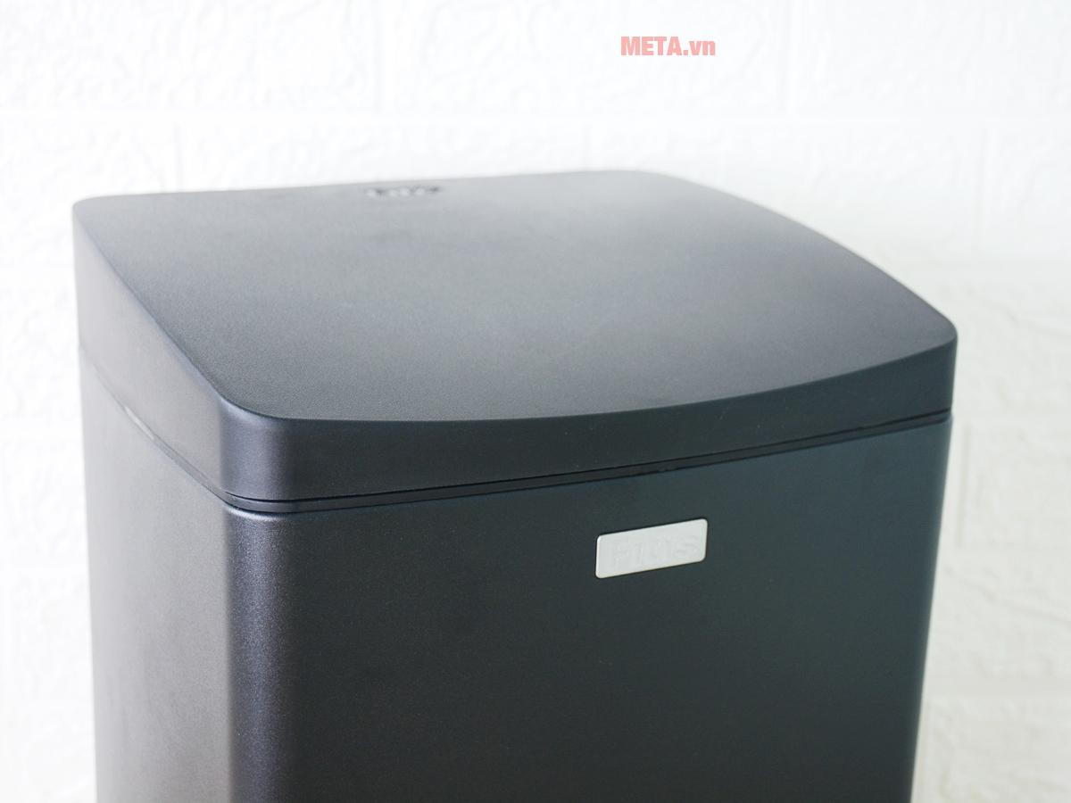 Thùng rác inox đạp vuông nhỏ Fitis SPS1-903 tháo rời được khay đựng bên trong