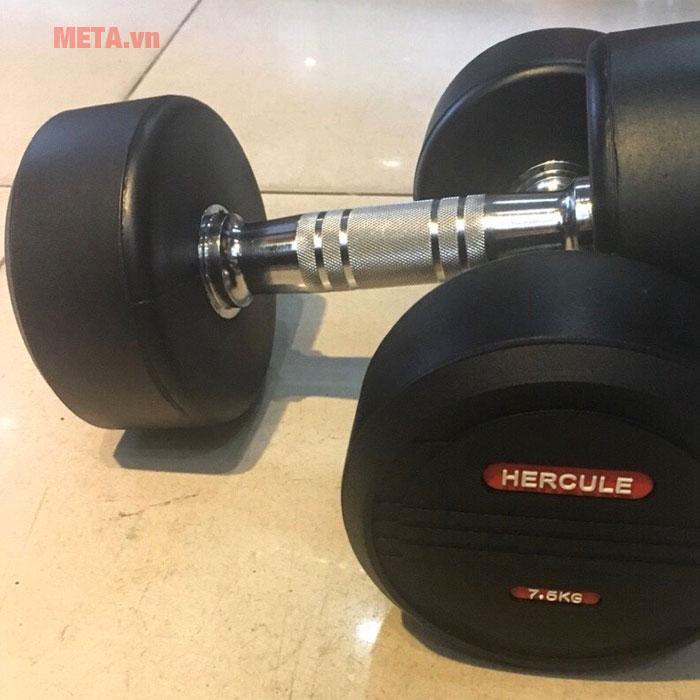 Tạ tay Hercule có nhiều trọng lượng tạ để lựa chọn