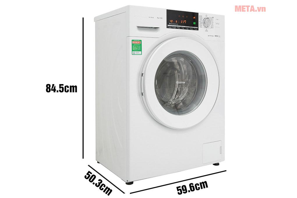 Kích thước máy giặt Panasonic inverter NA-128VG6WV2