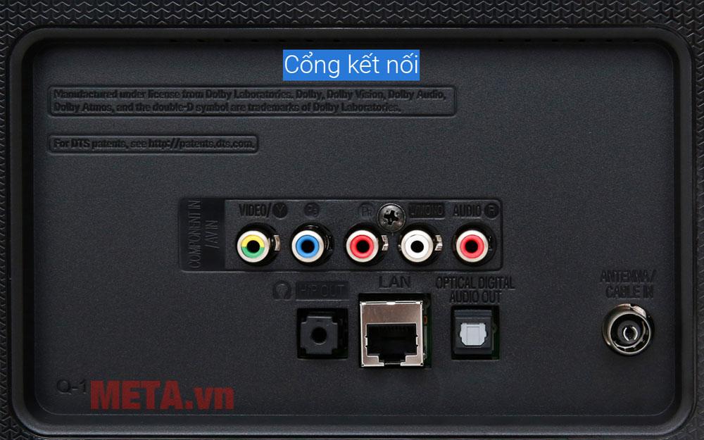 tivi có thể kết nối với các cổng thiết bị khác