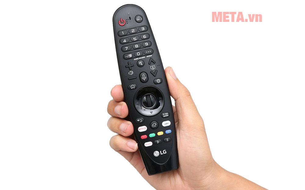 Tivi đi kèm điều khiển từ xa