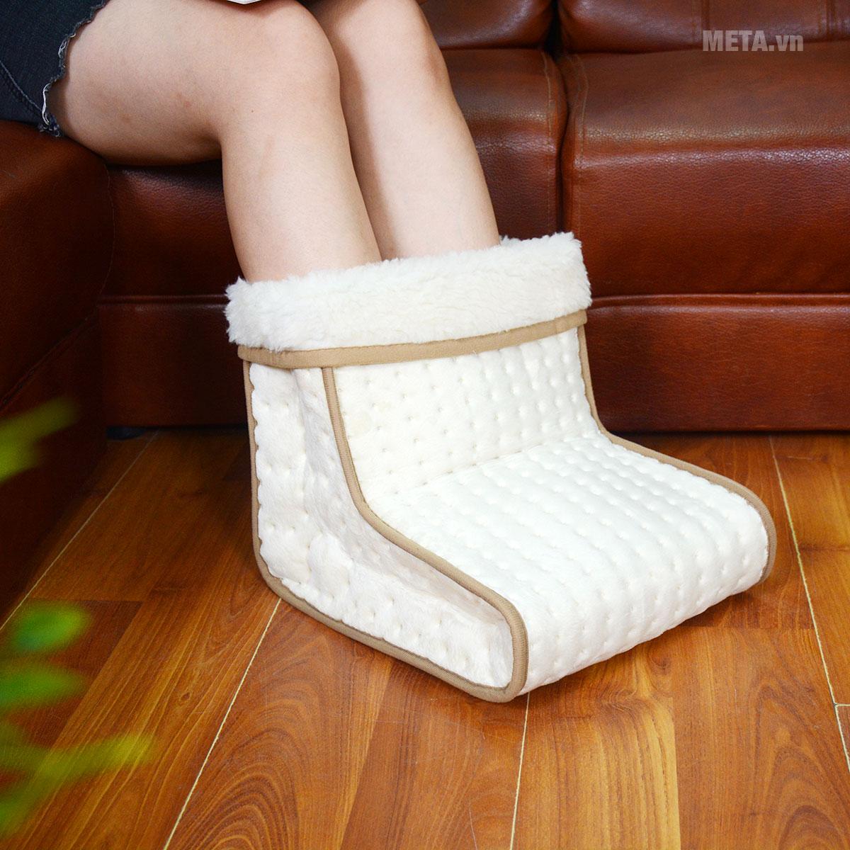 Ủng sưởi ấm chân giữ nhiệt Beurer FW20 với màu sắc trang nhã