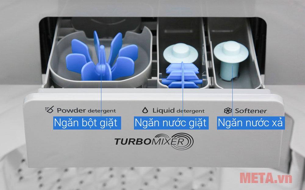 Máy thiết kế ngăn chứa hóa chất riêng biệt