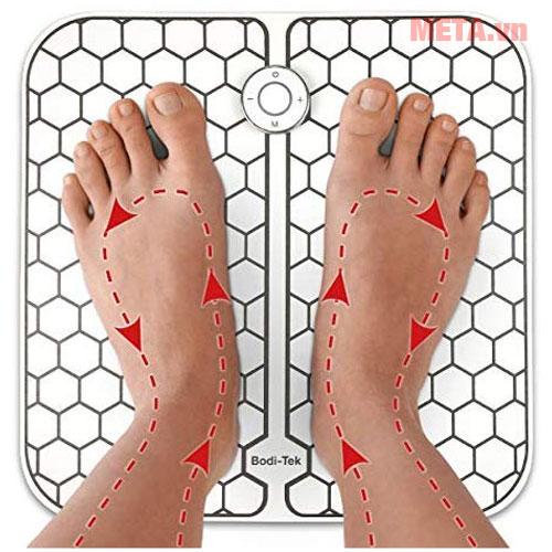 Máy massage lưu thông huyệt đạo cho bàn chân