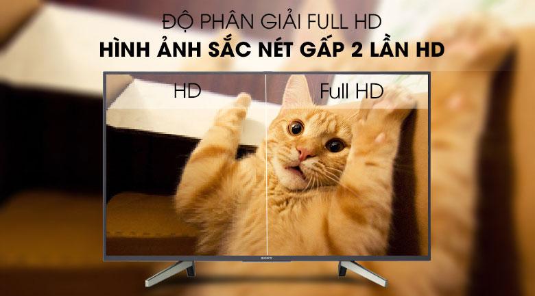 Hình ảnh độ sắc nét so với tivi HD