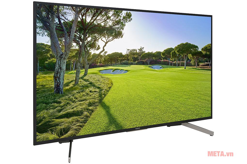 Tivi Sony Smart 4K KD-55X7000G sở hữu thiết kế tinh tế, sang trọng