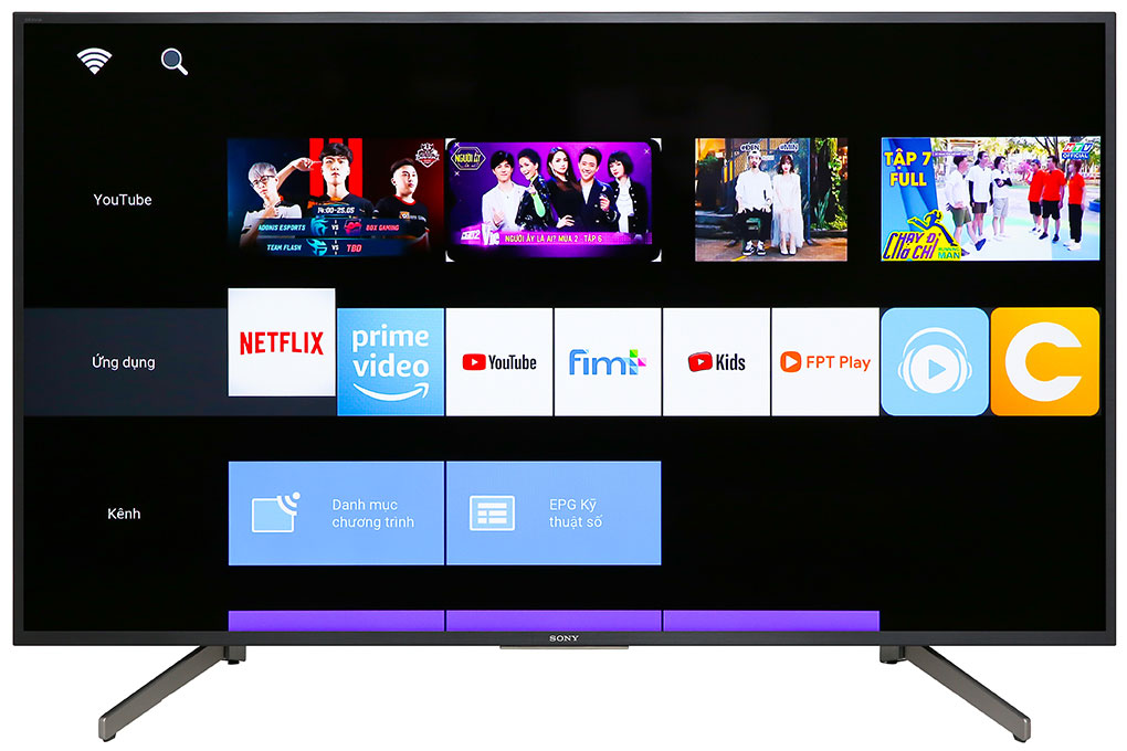 Tivi Sony Smart 4K KD-55X7000G