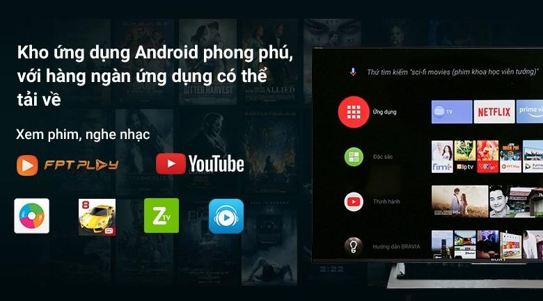 Kho ứng dụng Android phong phú