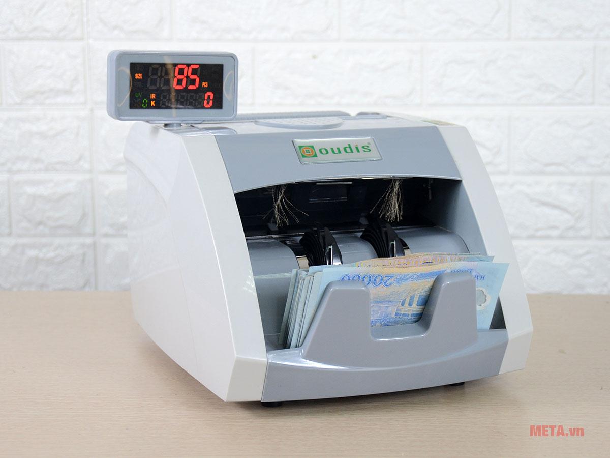 Máy đếm tiền OUDIS 9500A nhỏ gọn, hiện đại