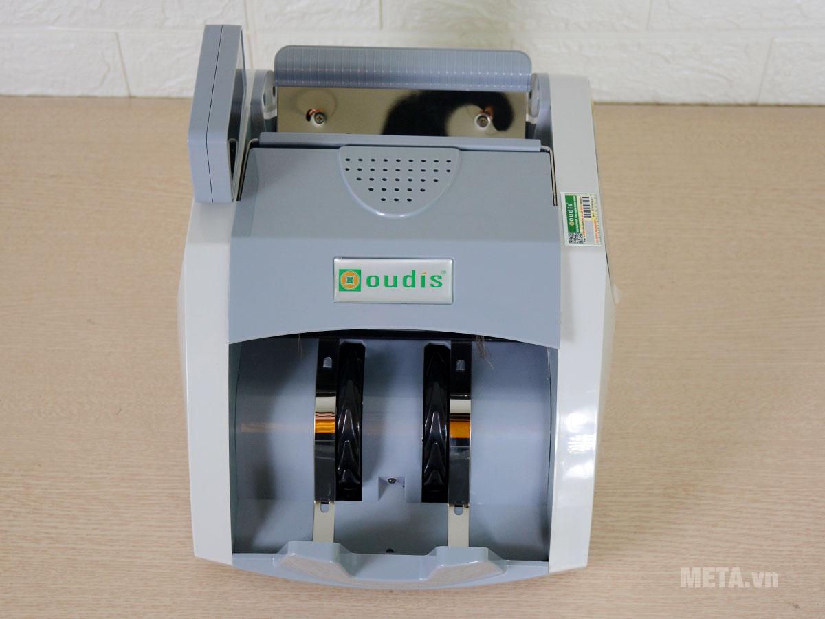 Máy đếm tiền Oudis tại META có tem chống giả